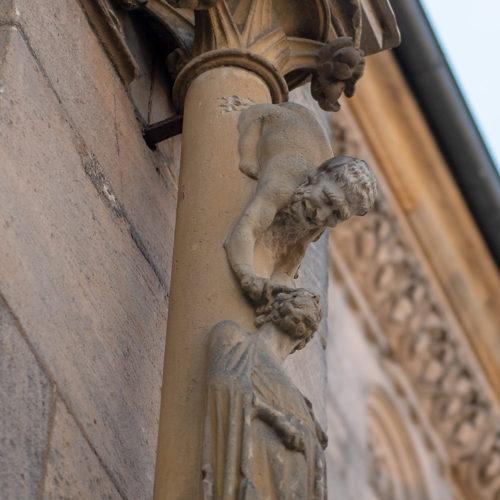 grotesk bamberg katedral