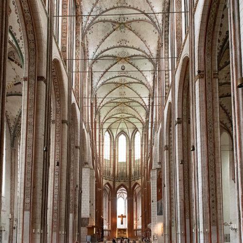 Marienkirche Lübeck interior