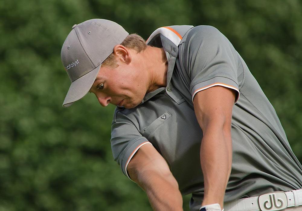 Elias Bertheussen, golf