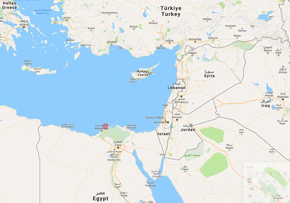 Kart Heraklion
