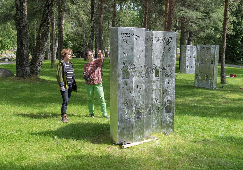 Gjenskinn minnelund på Grefsen kirkegård