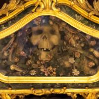 Detalj av et alter i Chiesa di Sant'Orsola (Palermo)