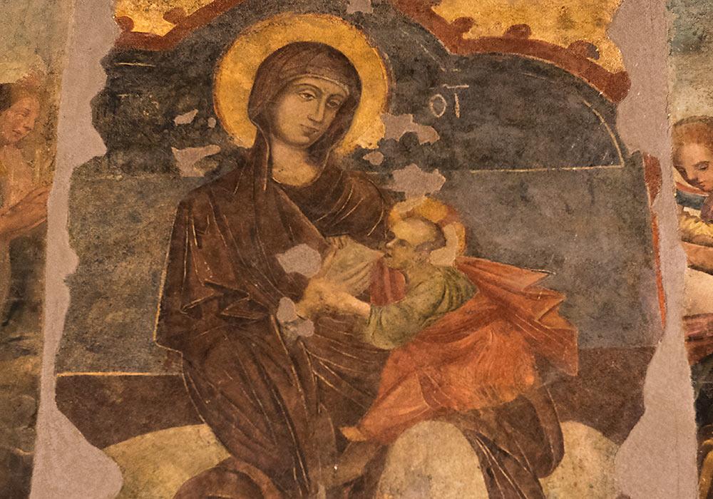 Jomfru Maria og Jesus-barnet
