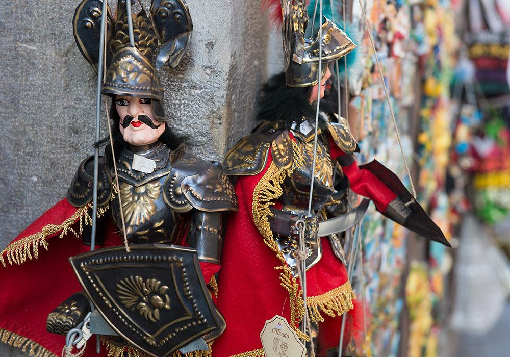 marionetter i Taormina