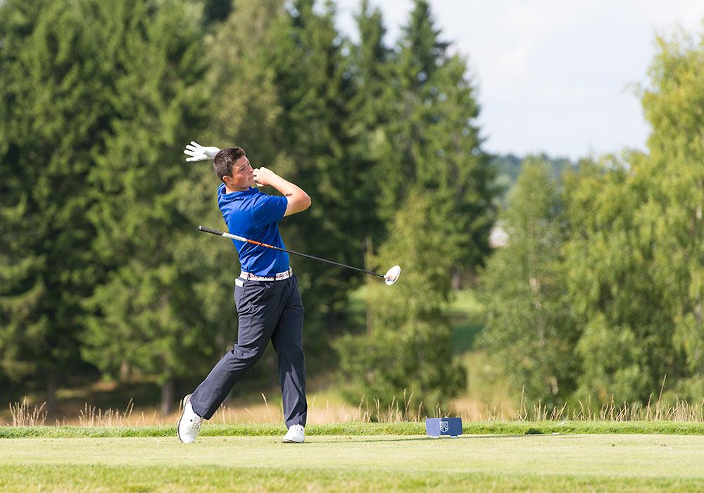 Viktor Hovland, golf