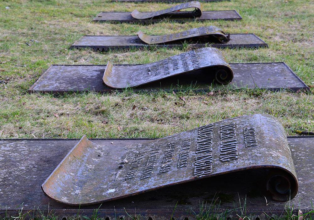 Gravminnene av jern - Skedsmo kirkegård