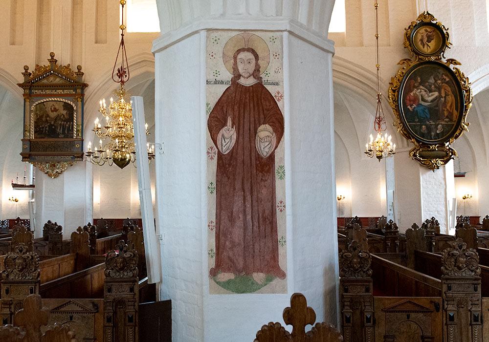 Køge domkirke Frelserens højde
