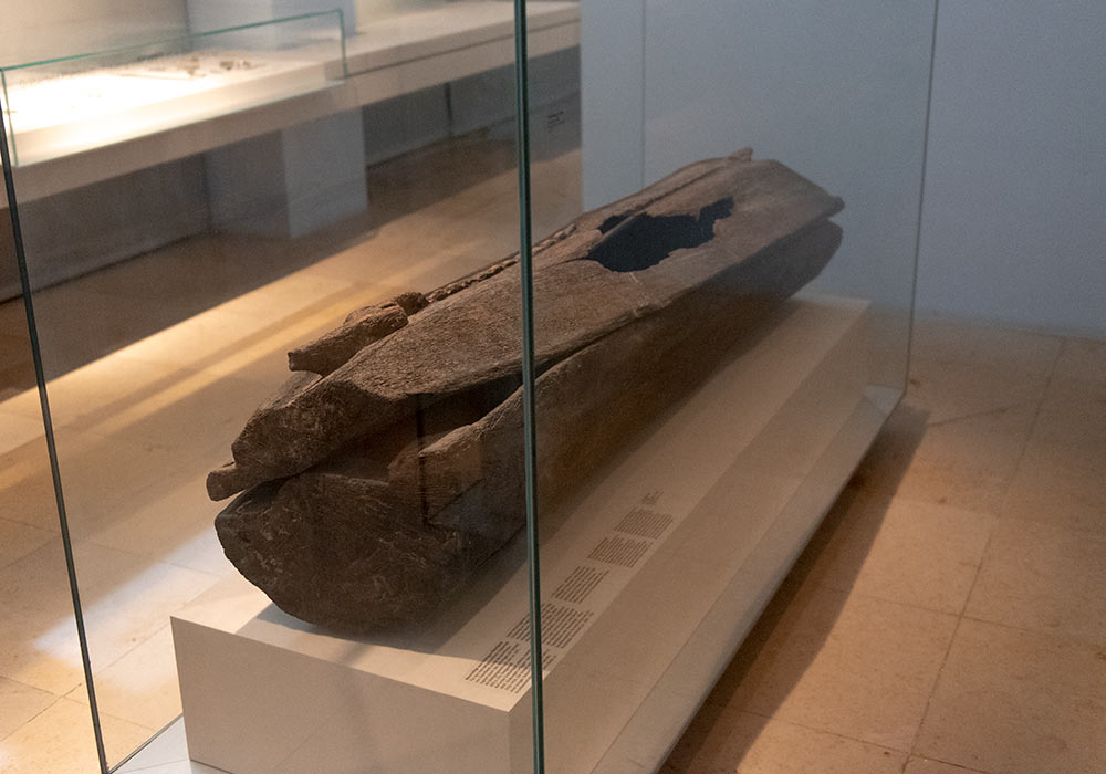 Kiste (ca 585 e.Kr.) fra Oberflacht-gravplassen