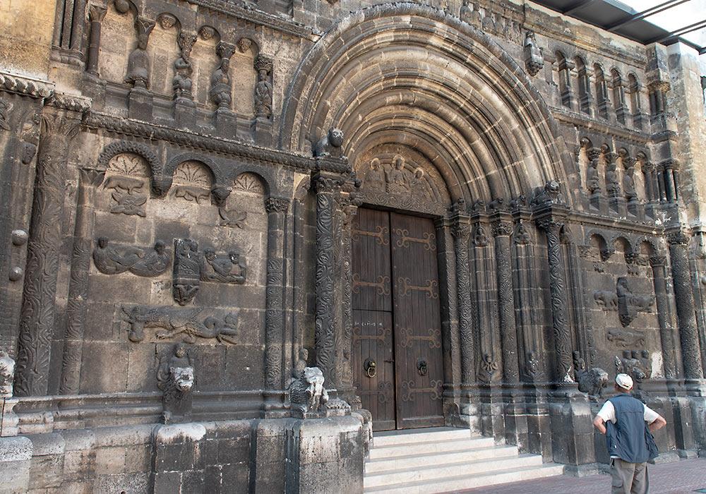 Regensburg Schottenkirche fasade