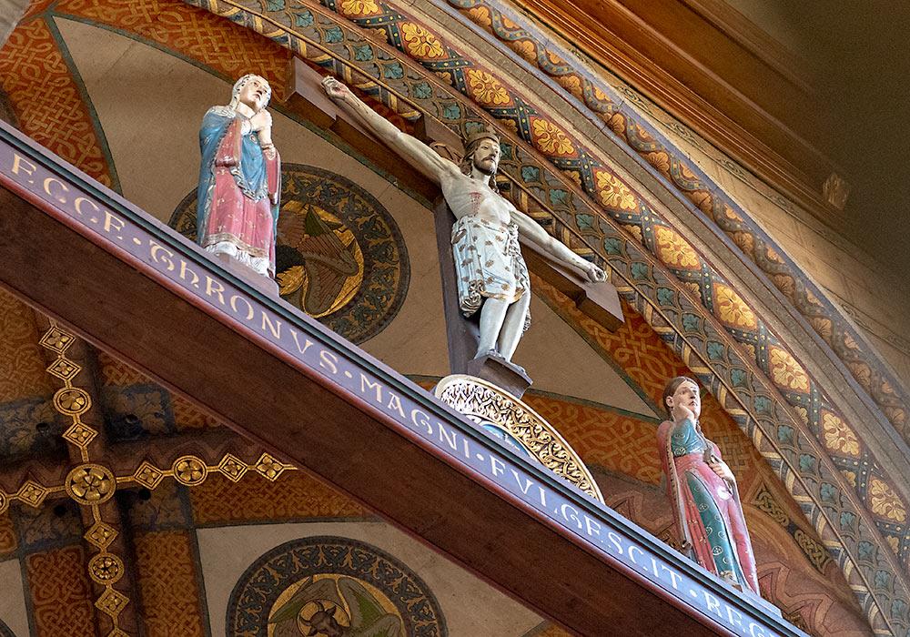 regensburg schottenkirche krusifiks