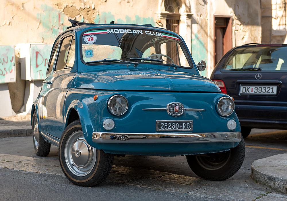 Fiat 500, Ragusa, Sicilia