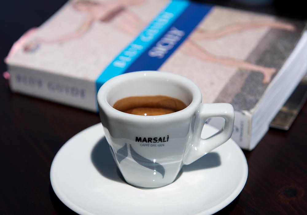 espresso, Erice, Sicilia