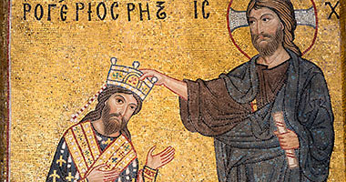 Roger II mosaic coronation