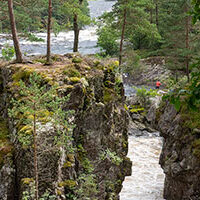 Kvåsfossen, Lyngdal