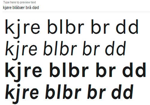 karla google-font