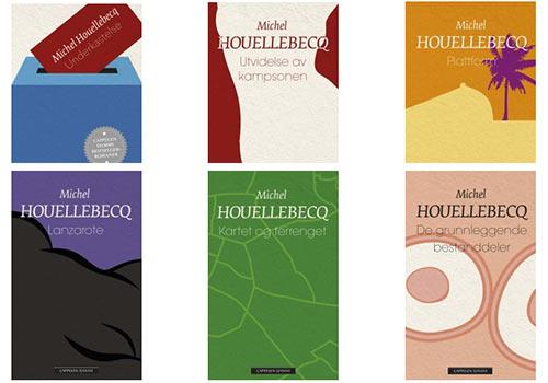 Michel Houellebecq: Cover (Underkastelse, Utvidelse av kampsonen etc.)