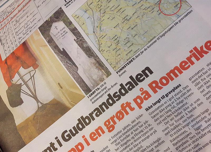Bernt Gudbrandsen Sylte / Sylthe gravstøtte
