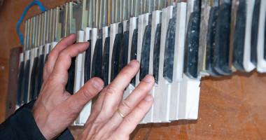 trampe i klaveret