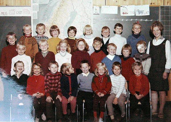 Nøklevann skole: 1C, 1969.