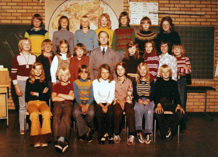 Nøklevann skole: 6C, 1974