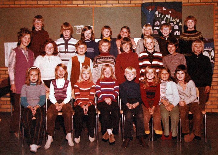 Nøklevann skole: 4C, 1972