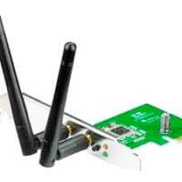 Trådløst nettverkskort til stasjonær PC: ASUS PCE-N15 11n Wireless LAN PCI-E-kort