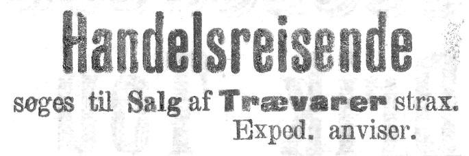 handelsreisende, Stavanger Aftenblad